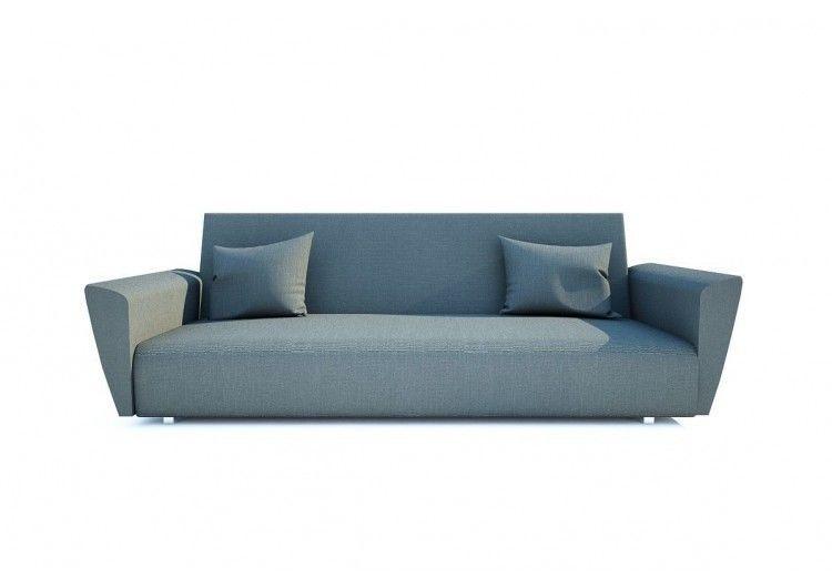 Диван Раевская мебельная фабрика Шинил синий 00442 - фото 3