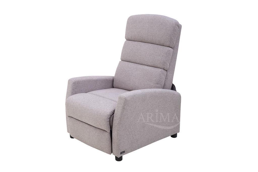 Кресло Arimax Dr Max DM04003 (Теплый серый) - фото 6