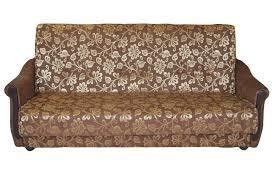 Диван ПромТрейдинг Уют 120 с пружинным блоком гобелен коричневый - фото 1
