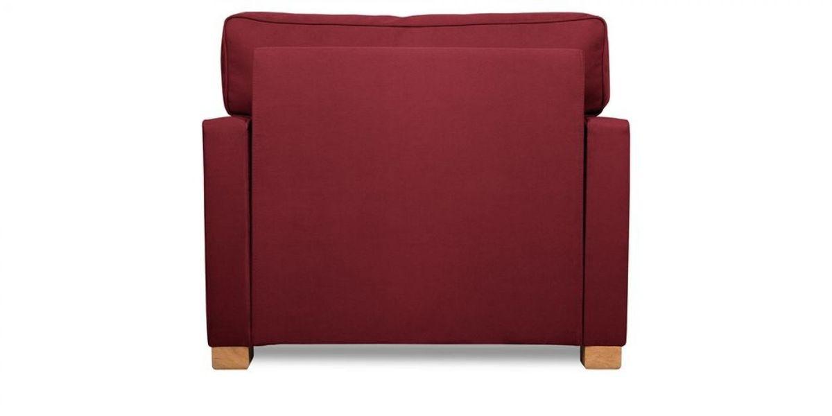 Кресло WOWIN Табу (Бордовый велюр) - фото 5
