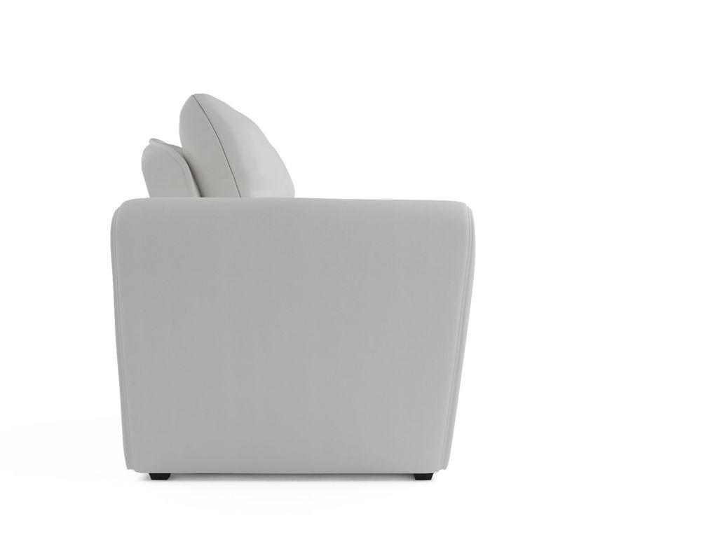 Кресло Мебель-АРС Квартет - экокожа белая - фото 3