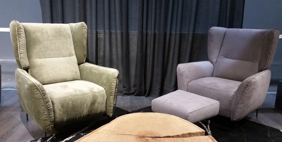 Кресло Gala Collezione Lorien в ткани - фото 3