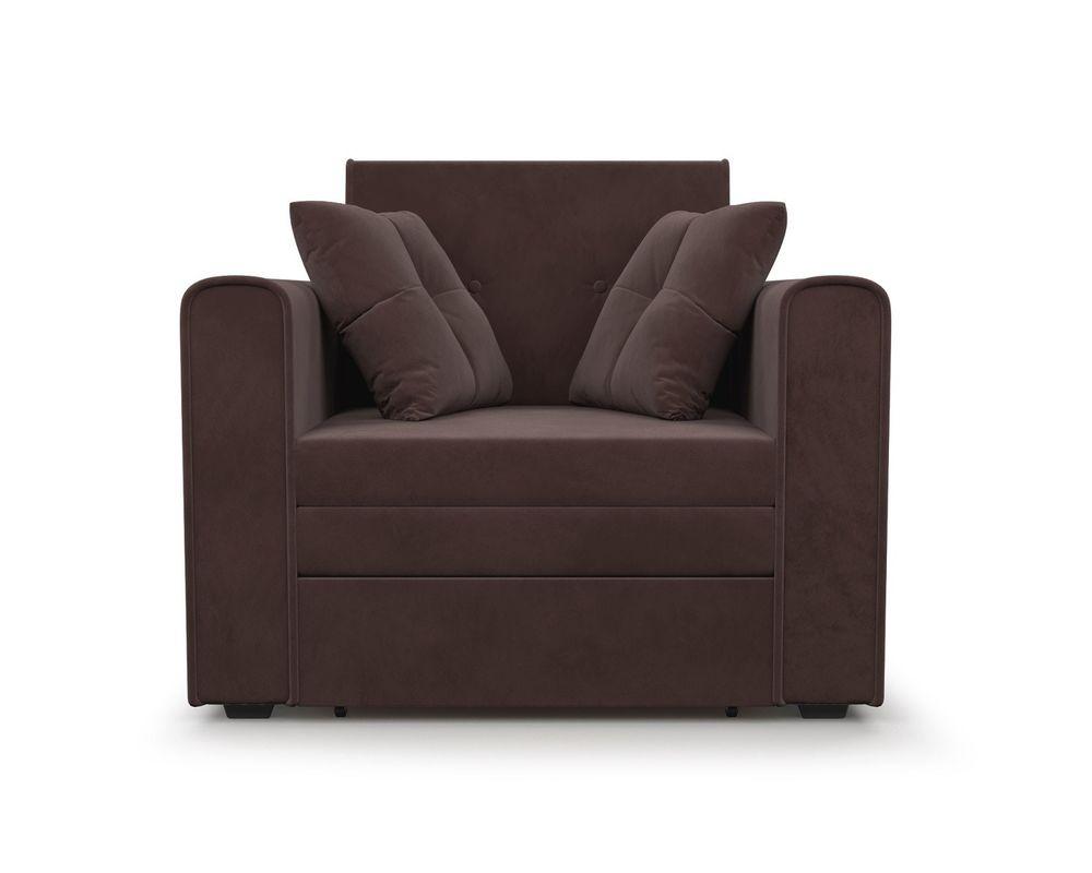 Кресло Мебель-АРС Санта (велюр молочный шоколад / НВ-178/13) - фото 2