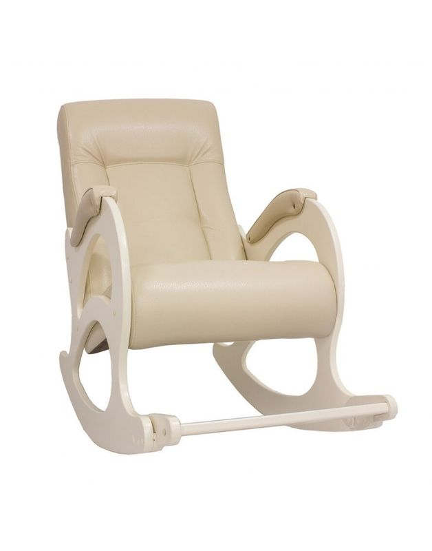 Кресло Impex Модель 44 б/л сливочный экокожа (mango 002) - фото 2