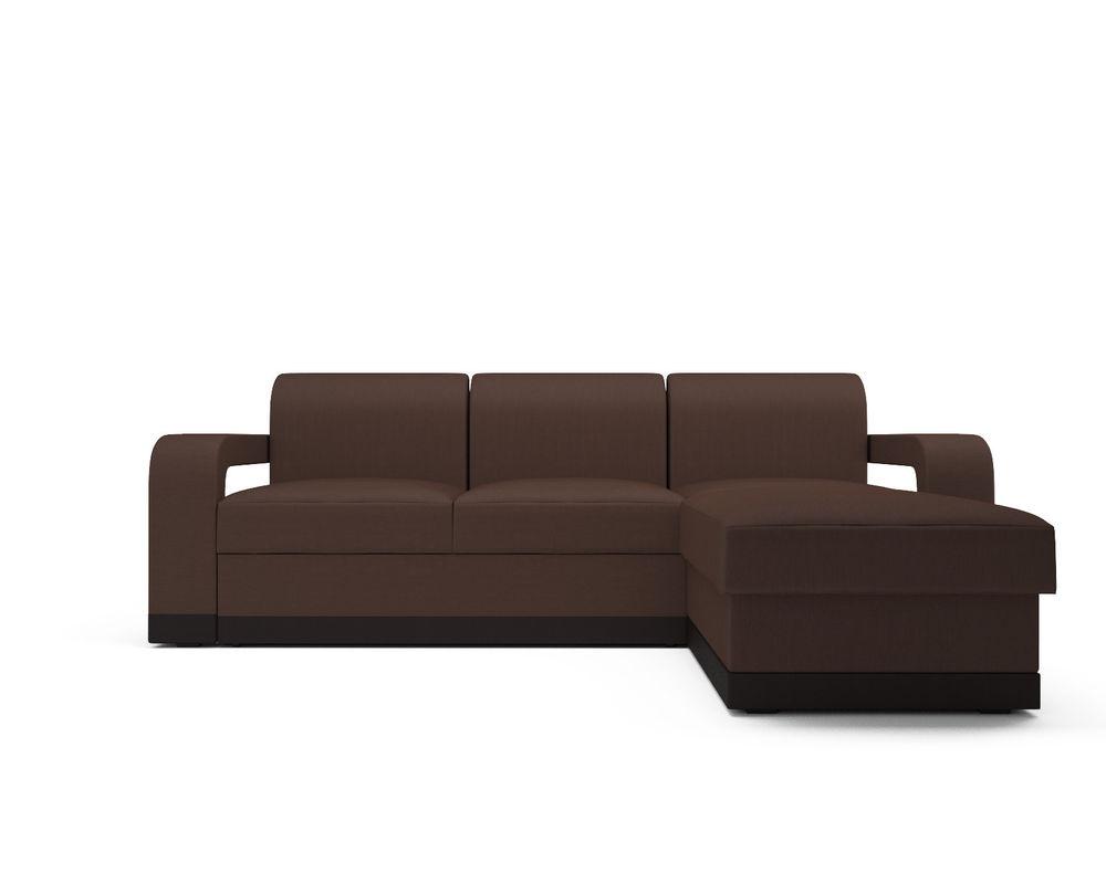 Диван Мебель-АРС Сенатор (рогожка шоколад) - фото 2