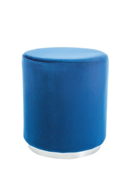 Пуфик Signal FURLA (синий/хром) FURLASGR - фото 1