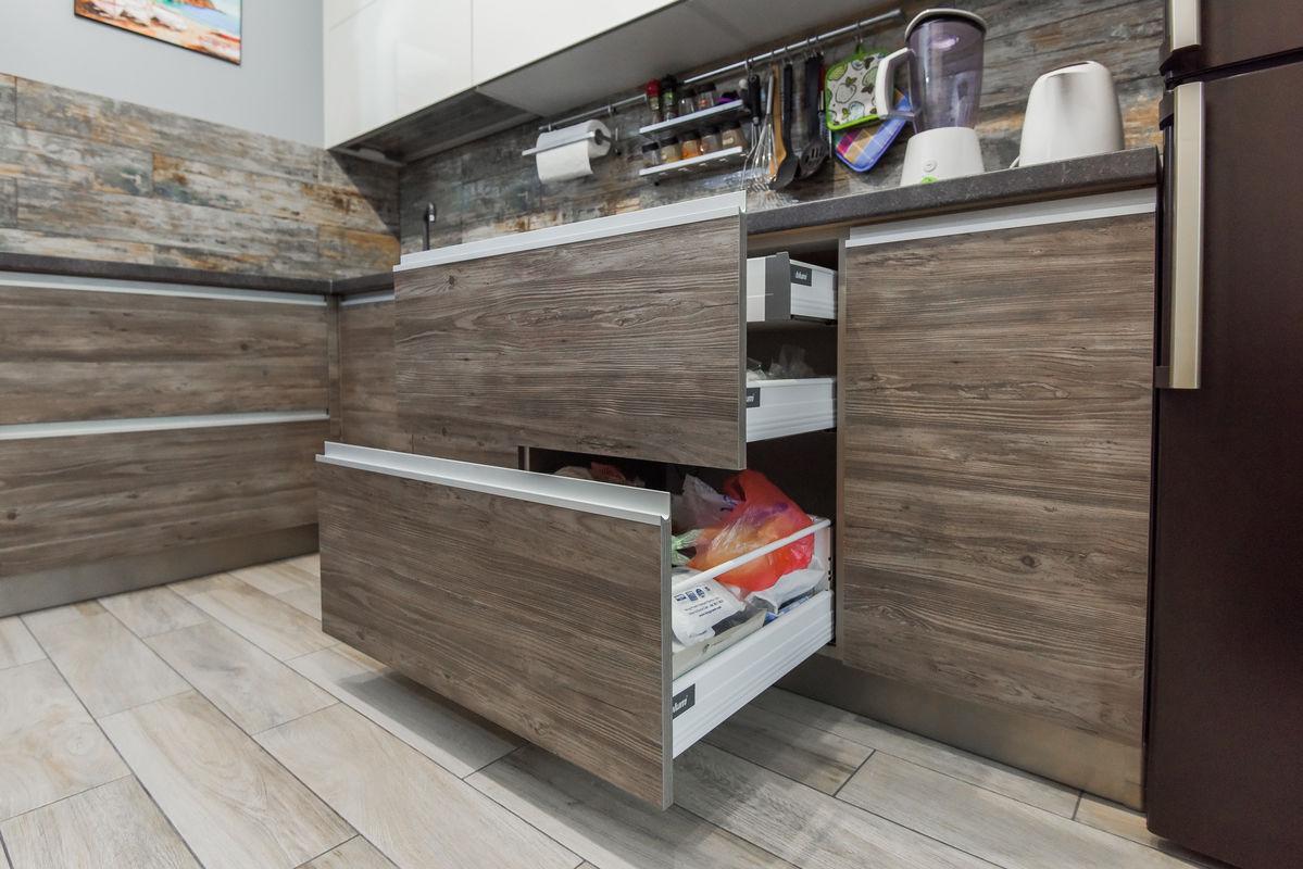 Кухня Шеф кухни из акрила и CLEAF - фото 12
