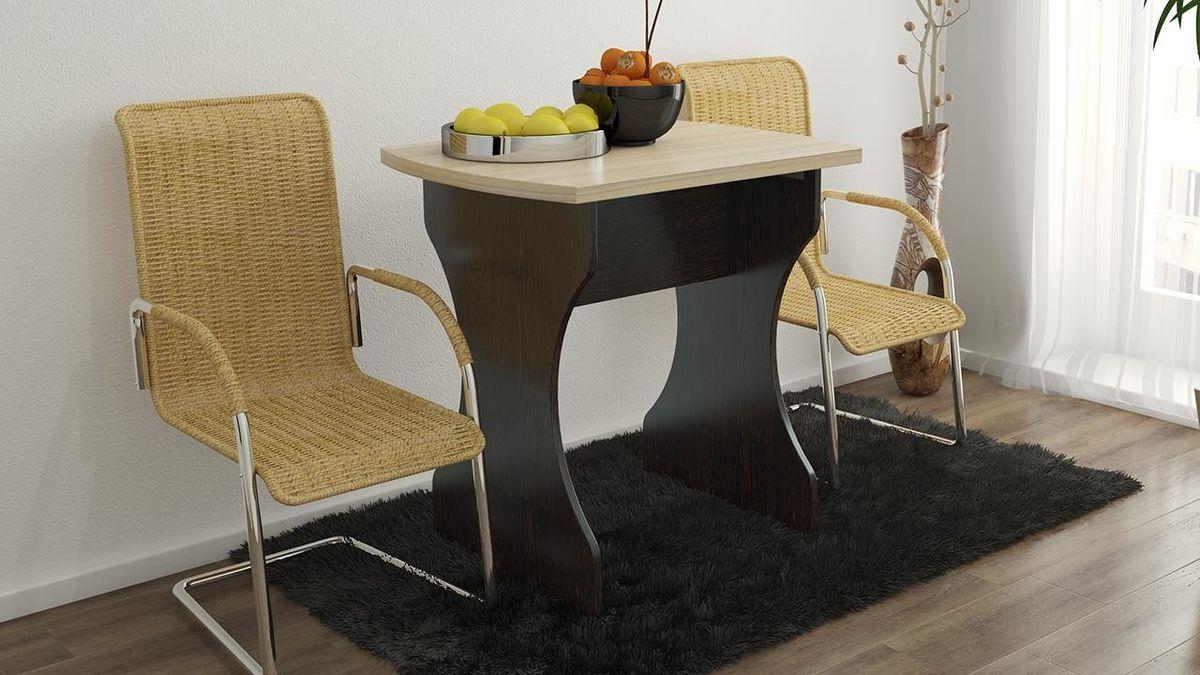 Обеденный стол ТриЯ на деревянных ножках Турин 2 - фото 3