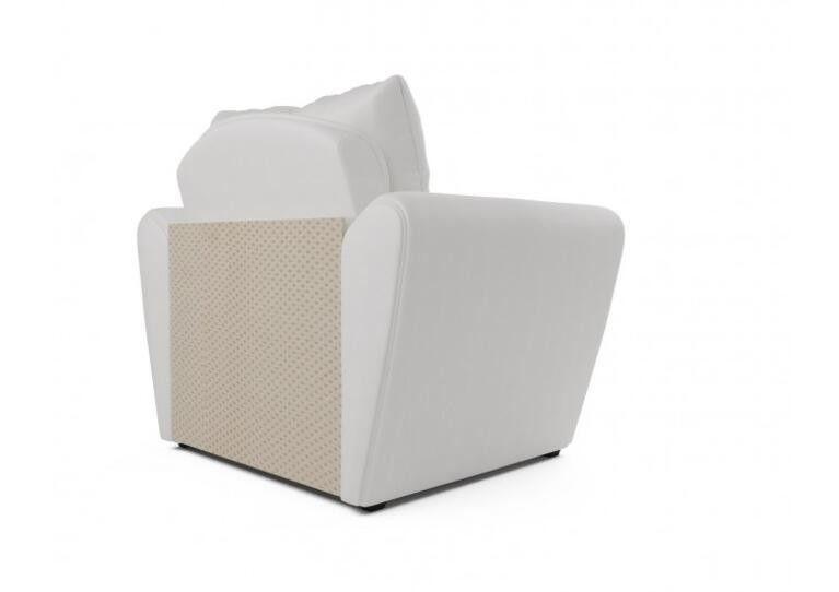Кресло Craftmebel Квартет - экокожа белая - фото 5