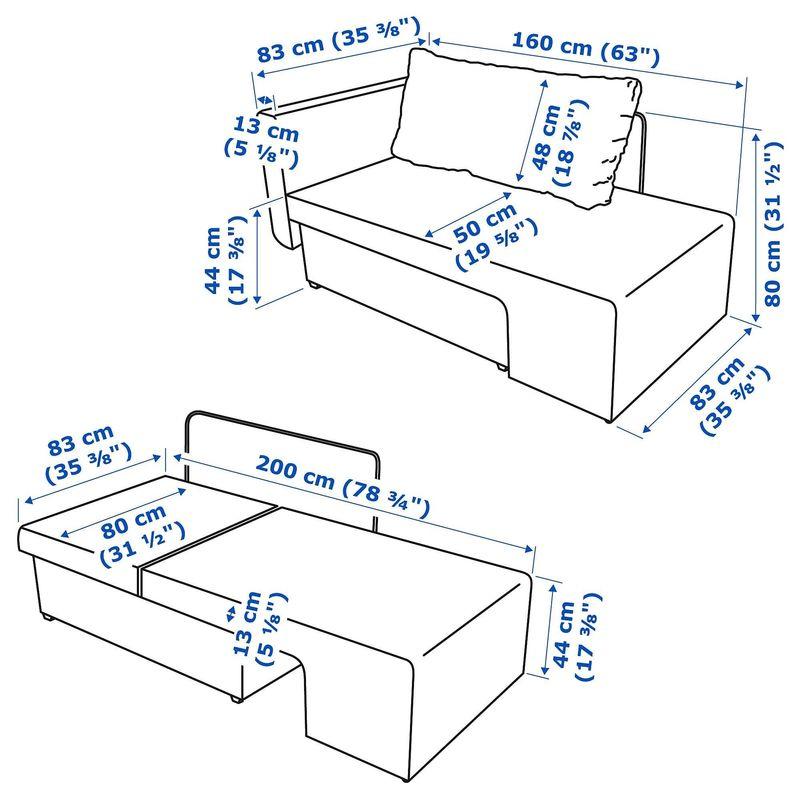 Диван IKEA Грэлльста [904.008.19] - фото 10