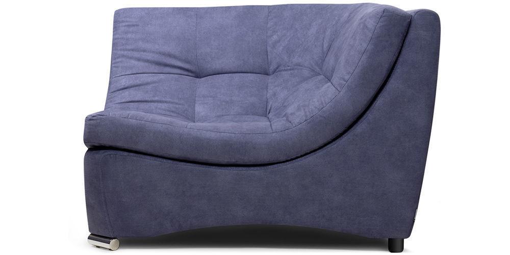 Диван Woodcraft Угловое кресло Монреаль Blue Granite - фото 2