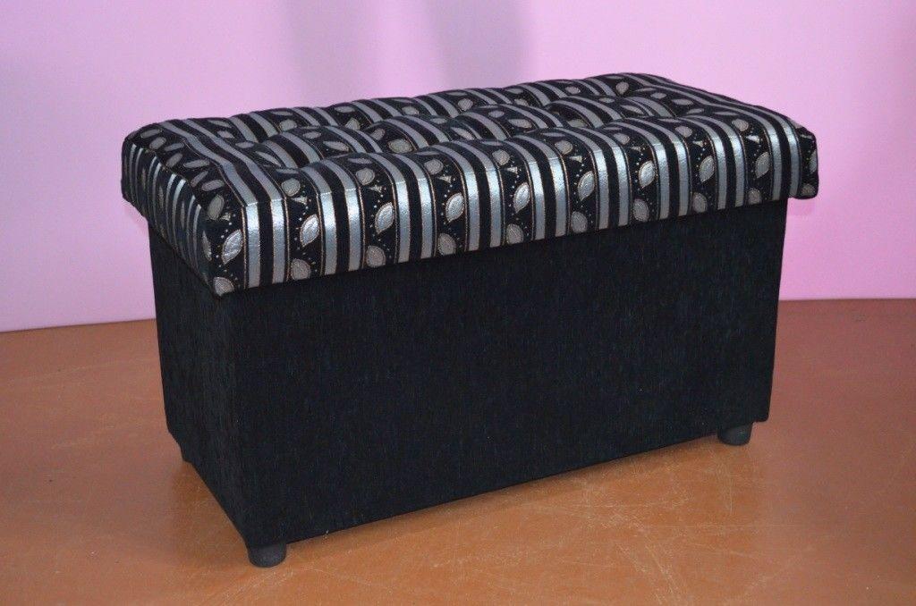 Пуфик Вливск-Мебель 40x80 с нишей - фото 1
