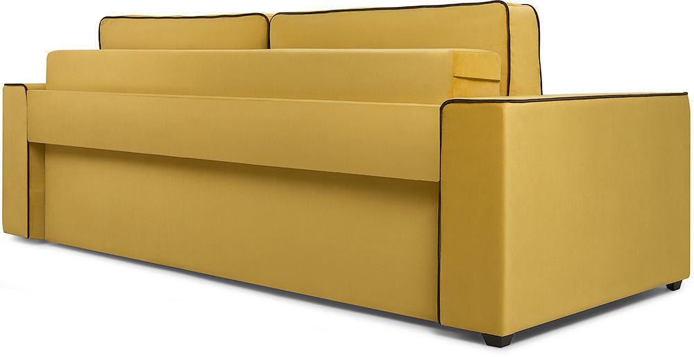 Диван Woodcraft Менли НПБ Velvet Yellow - фото 3