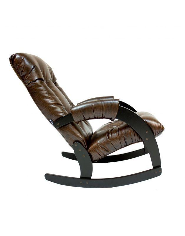 Кресло Impex Модель 67 Экокожа (Антик-крокодил) - фото 5