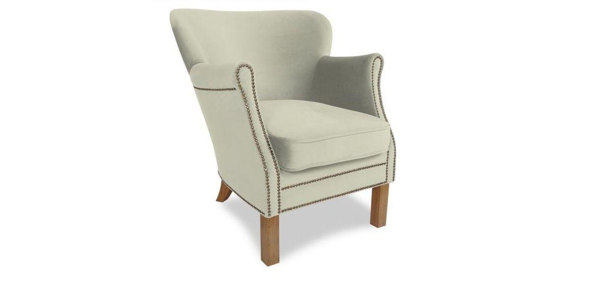 Кресло WOWIN Голден (Кремовый велюр) - фото 1