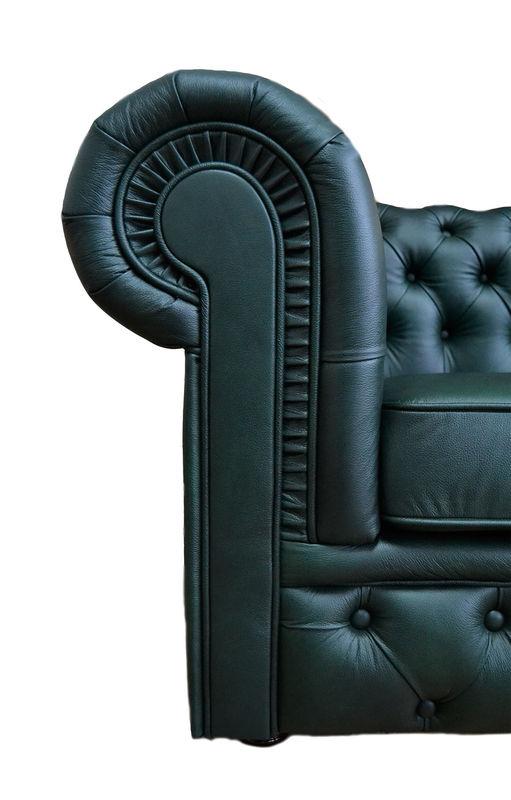 Диван Tiolly Честерфилд 3 (зелёный) - фото 5