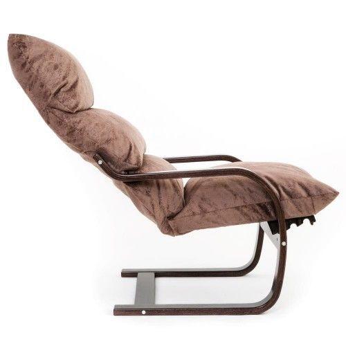 Кресло Greentree Онега венге/ткань капучино - фото 3