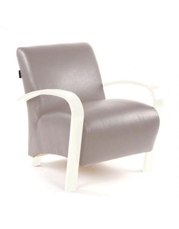 Кресло Impex Балатон белый - фото 3