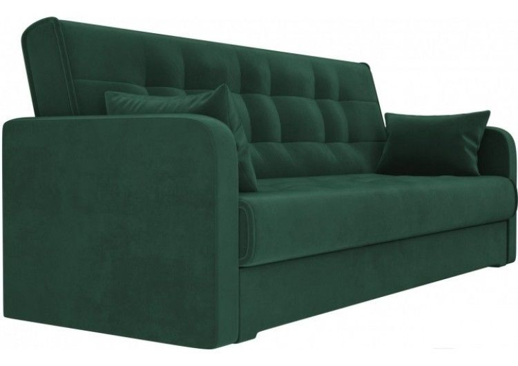 Диван Луховицкая мебельная фабрика Надежда зеленый (120х180) - фото 2