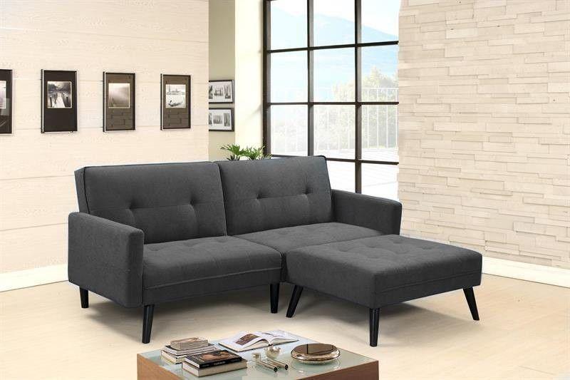 Кресло Halmar CORNER раскладной (темно-серый) V-CH-CORNER-SOFA-POPIEL - фото 1