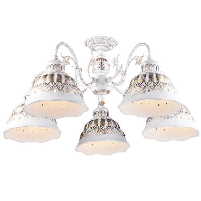 Светильник Arte Lamp Chiesa A2814PL-5WG - фото 1