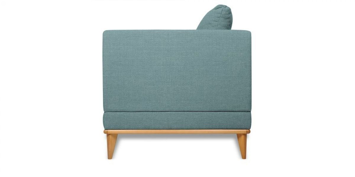 Кресло WOWIN Эстар (Бледно-васильковая рогожка) - фото 3