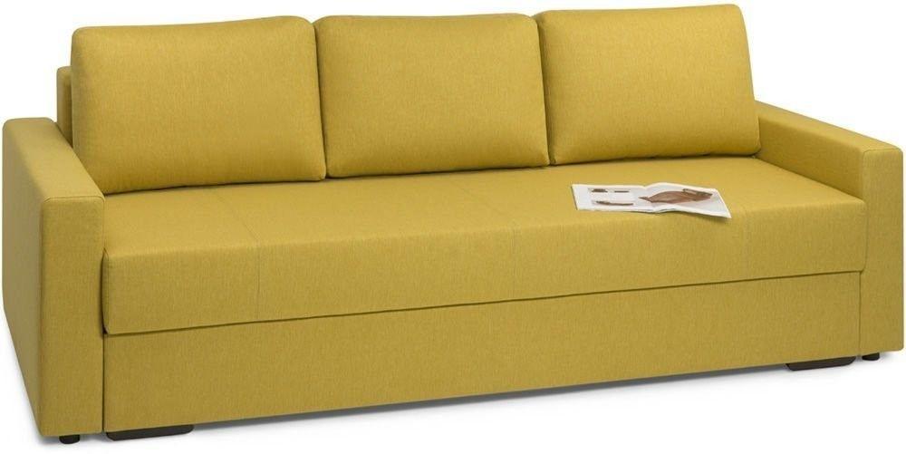 Диван Woodcraft Порту Textile Yellow - фото 2