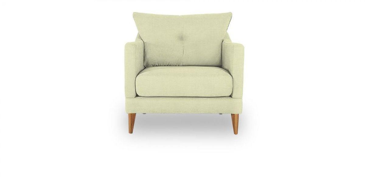 Кресло WOWIN Полар (Молочный велюр) - фото 2