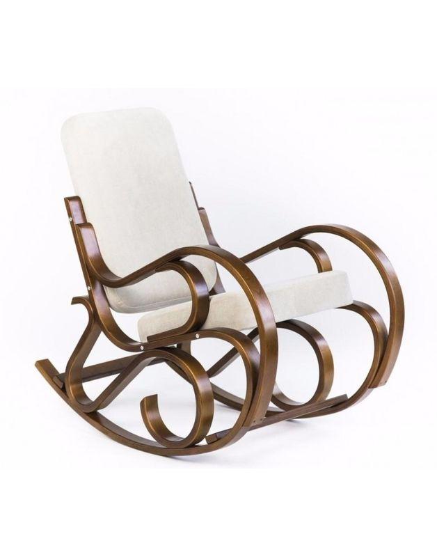 Кресло Impex Луиза вишня (шоколад) - фото 2