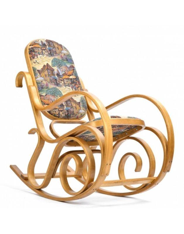 Кресло Impex Лондон светлый орех (Городок) - фото 1