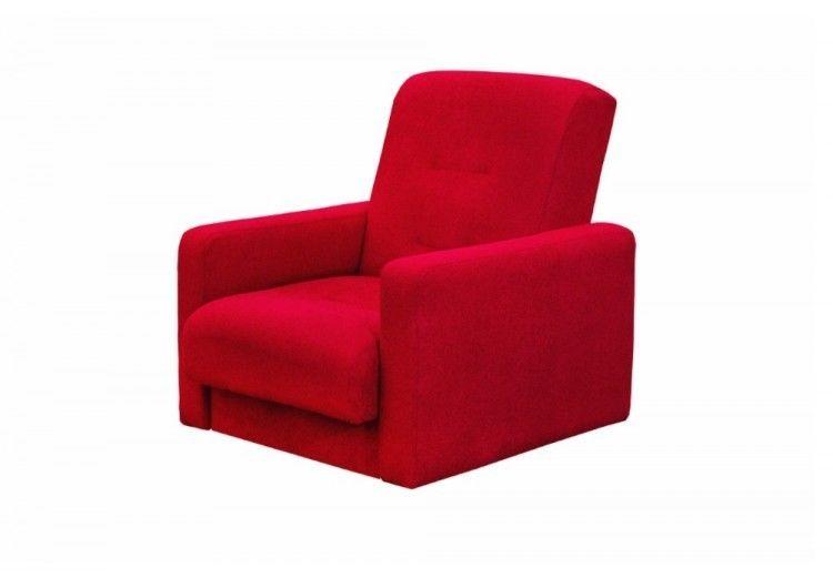 Кресло Луховицкая мебельная фабрика Милан красный - фото 2