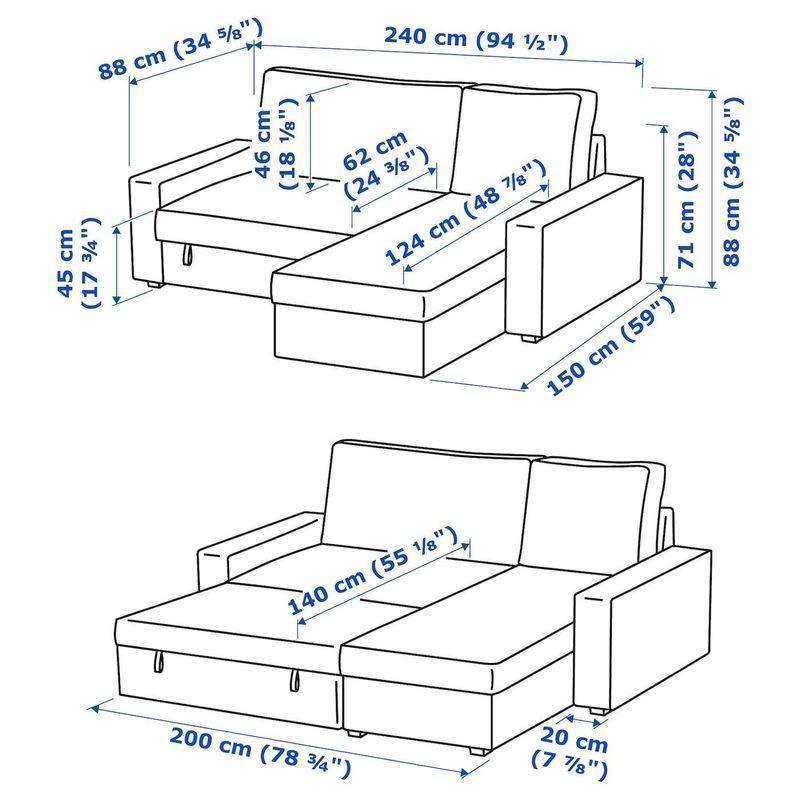 Диван IKEA Виласунд 992.824.54 - фото 7