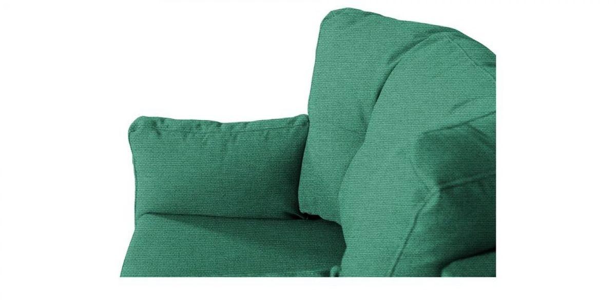 Кресло WOWIN Хюгге (Бирюзово-голубая микророгожка) - фото 5