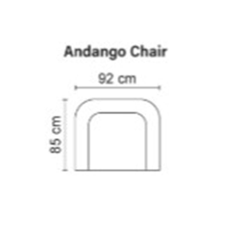 Кресло Bellus Andango с поворотным механизмом - фото 3
