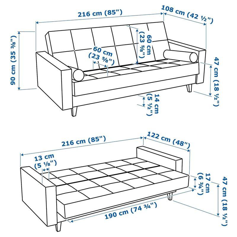 Диван IKEA Аскеста [204.507.99] - фото 10