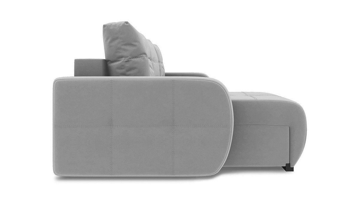 Диван ТриЯ левый «Томас Slim Т1» (Neo 14 (рогожка) сиреневый) - фото 5