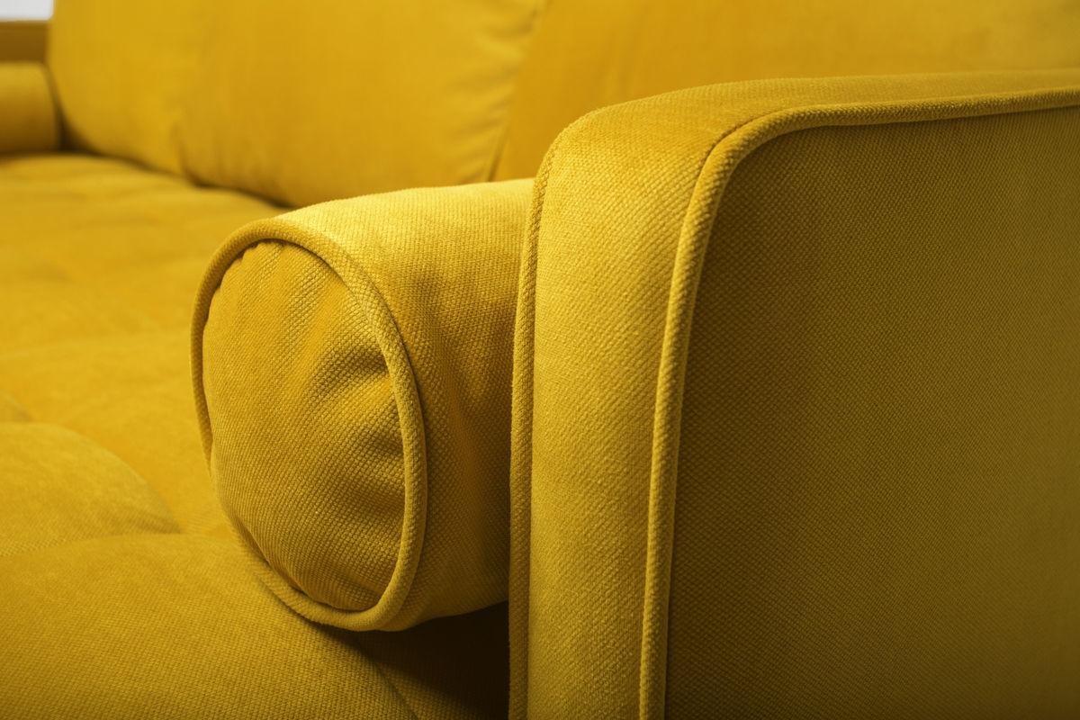 Диван Puffo Ливерпуль Velvet Yellow - фото 9