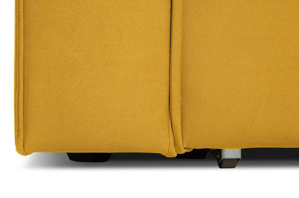 Диван Woodcraft Лофт Velvet Угловой Yellow - фото 13