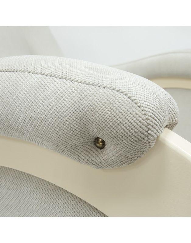 Кресло Impex Модель 48  verona сливочный  б.л. (light grey) - фото 5