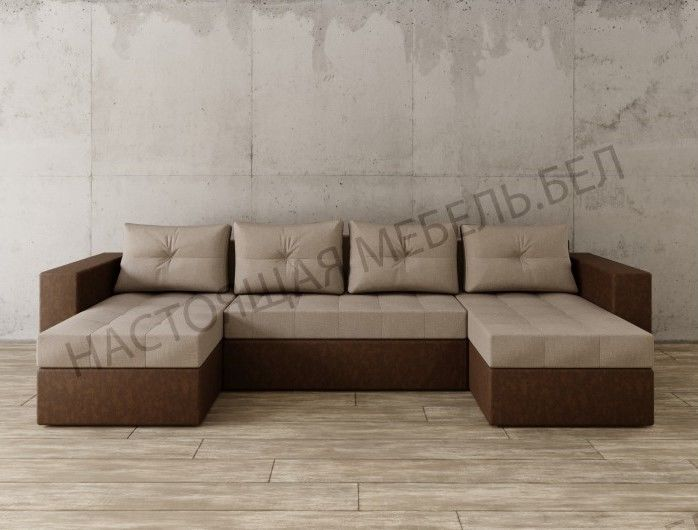 Диван Настоящая мебель Константин п-образный (модель 72) - фото 1