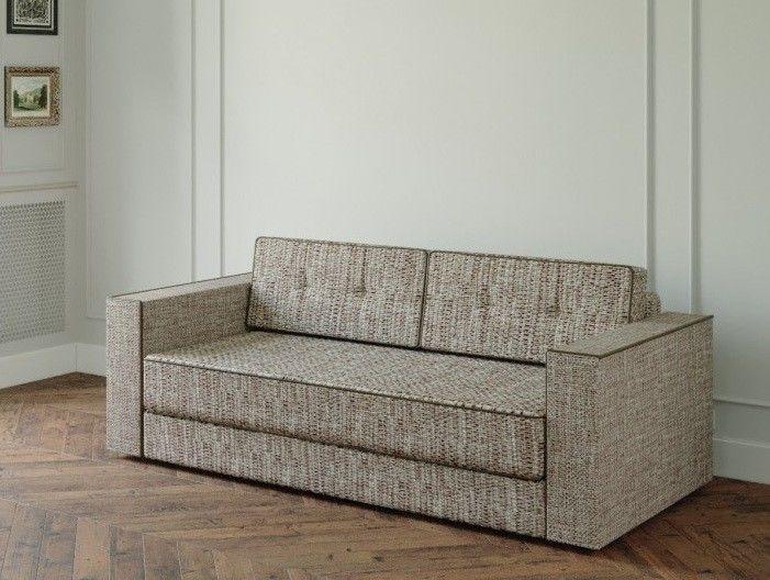 Диван Настоящая мебель Ванкувер Модерн (модель: 00-000034539) бежево-коричневый - фото 1