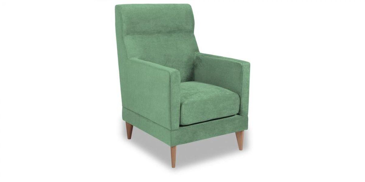 Кресло WOWIN Полар высокое (Мятная рогожка) - фото 1