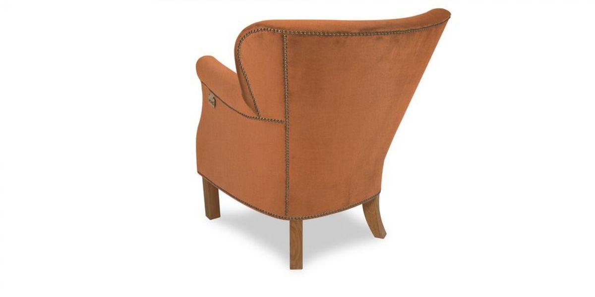 Кресло WOWIN Голден (Бледно-лососевый велюр) - фото 4