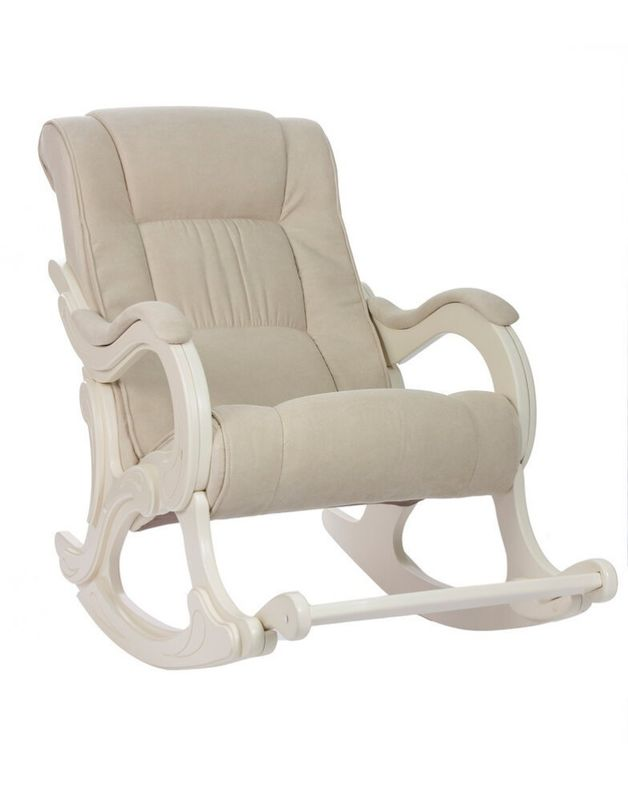 Кресло Impex Модель 77 Verona  сливочный (Цвет каркаса сливочный) - фото 1