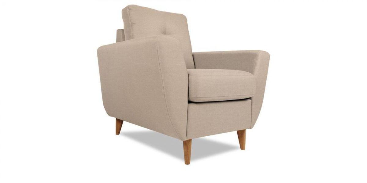 Кресло WOWIN Хоум (Дымчато-розовая микророгожка) - фото 1