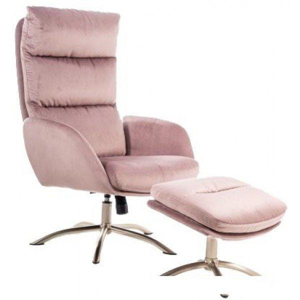 Кресло Signal Monroe Velvet (античный розовый) - фото 1