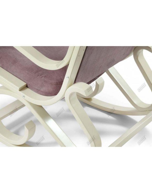 Кресло Impex Луиза Бежевый (шоколад) - фото 3