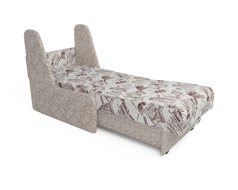 Кресло Мебель-АРС Аккорд №2 (газета коричневая) - фото 3