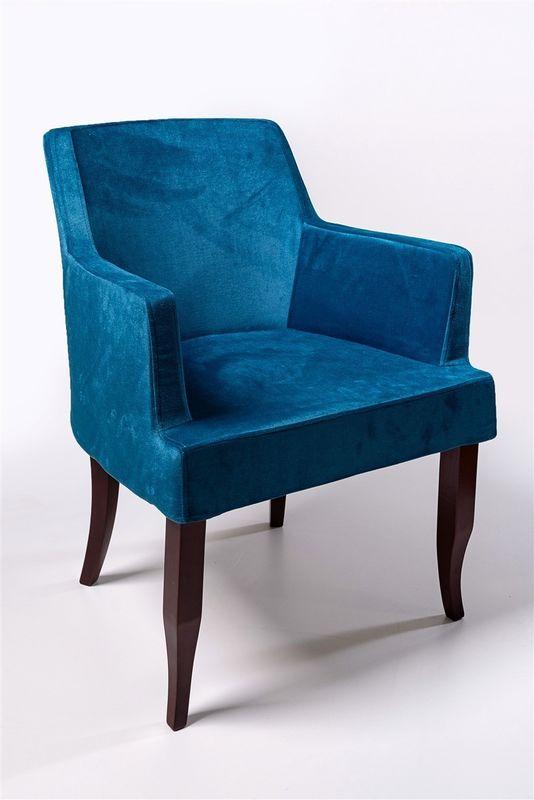 Кресло ФорестДекоГрупп Ягуар (синий) YAGUAR-BL - фото 1