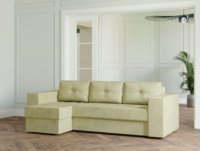 Диван Настоящая мебель Ванкувер Лайт (модель 00-00003480) бежевый - фото 1